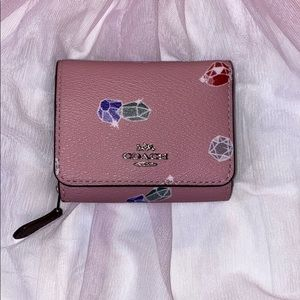 Disney Coach  trifold wallet